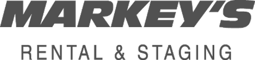 Markey's Rental and Staging Logo