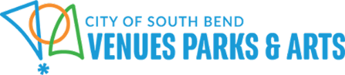 City of South Bend Venues and Parks logo